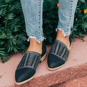 Mi.iM Freesia | Handwoven D'Orsay Shoes